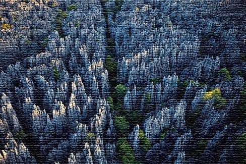 Каменный лес в КНР