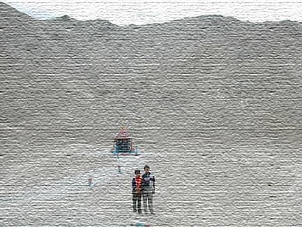 Магнитные холмы в Индии