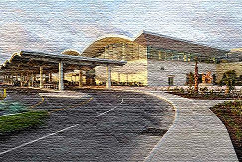 Международный аэропорт на Багамских островах
