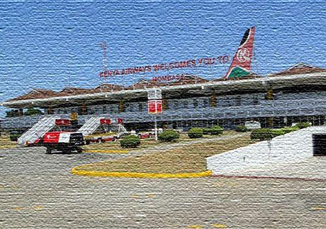 Международный аэропорт в Кении