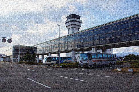Международный аэропорт в Нагасаки