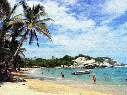 Морские курорты Колумбии
