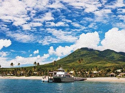 Морские курорты Сент-Китса и Невиса