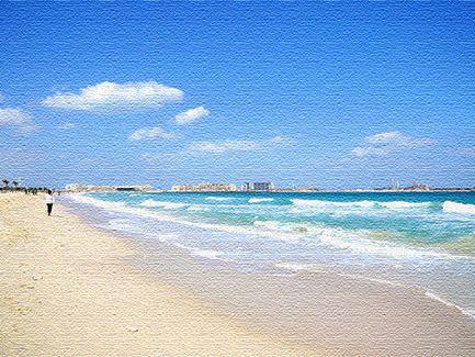 Морские курорты в Эмиратах