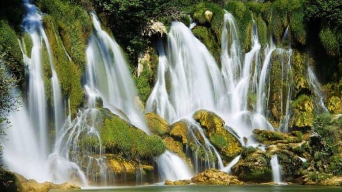 Национальный парк Хорватии Крка ограничивает посещение водопадов