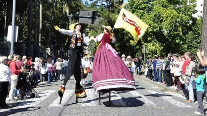 Немецкий фестиваль пива в Бразилии - Bauernfest 2017 в Петрополисе