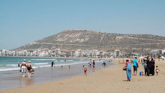 25 пляжей в Марокко удостоились награды «Голубой флаг»
