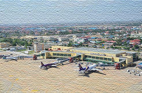 Аэропорт в королевстве Камбоджа