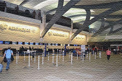 Международный аэропорт в Мехико