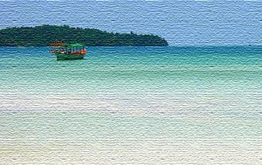 Морской отдых на пляжах Камбоджи