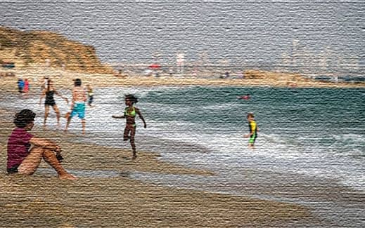 Пляж Хатзук (Клифф)