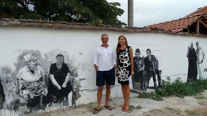 Польские художники преображают болгарскую деревню Старо Железаре