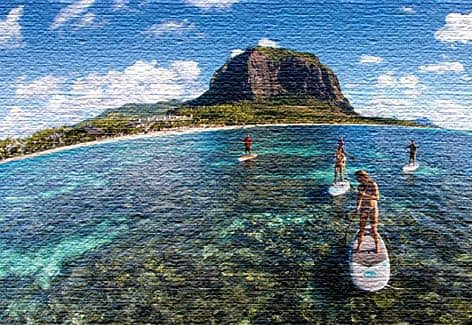 Развлечение на африканском острове