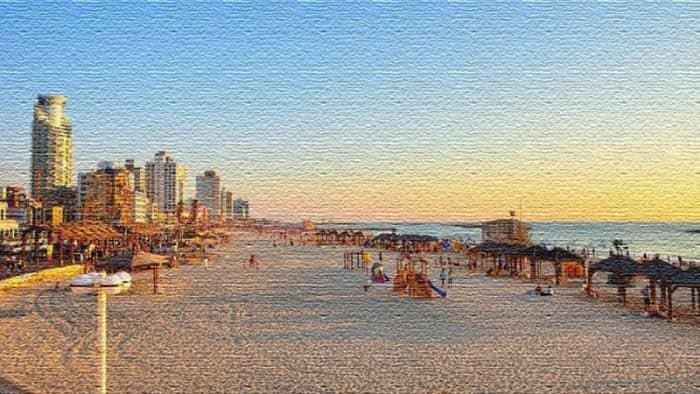 Топ-7 уникальных пляжей в Израиле для семейного отдыха