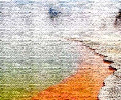 Погрейтесь у термального озера Шампань в Новой Зеландии