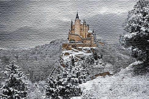 Алькасар в Сеговии - Испания