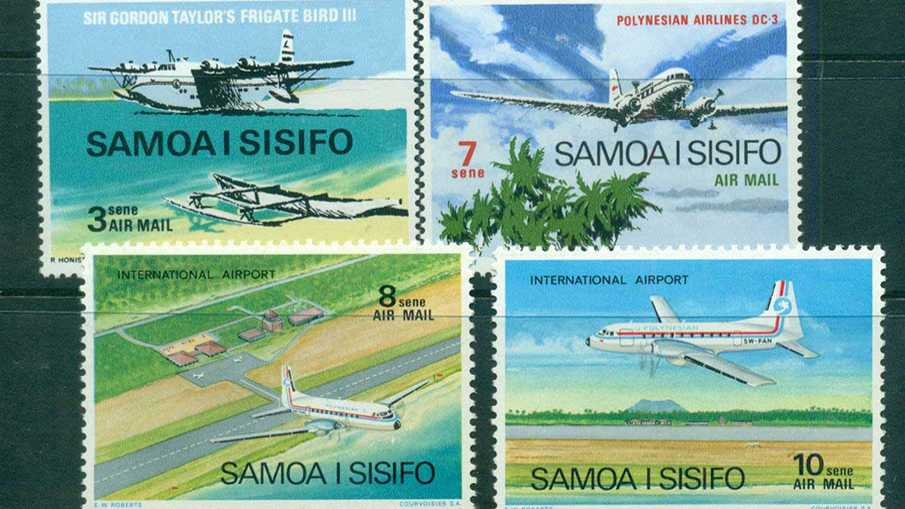 Авиакомпания Samoa Airways меняет логотип