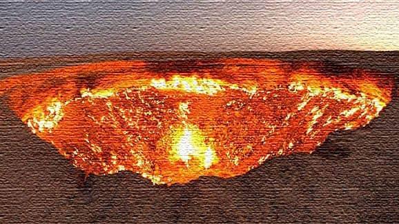 Дверь в ад - Туркменистан
