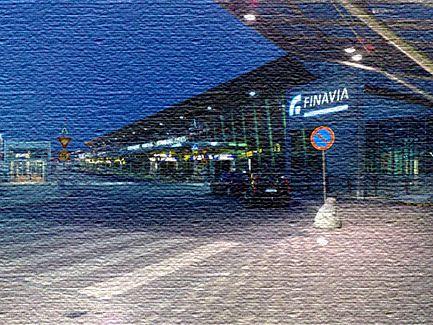 Международный аэропорт в столице Финляндии