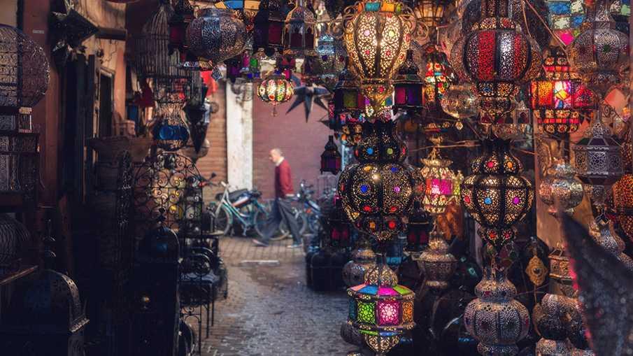 Международный туристический поток в Марокко увеличился на 14% за полгода