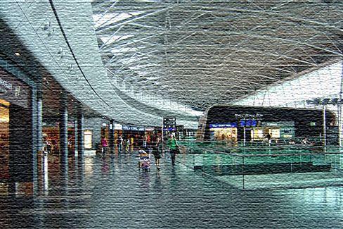 Национальны аэропорт в Женеве