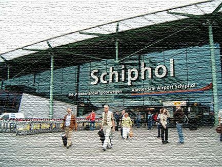 Национальный аэропорт в Амстердаме