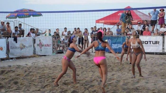 Национальный фестиваль волейбола в Плайя-Гуайабитос 2017