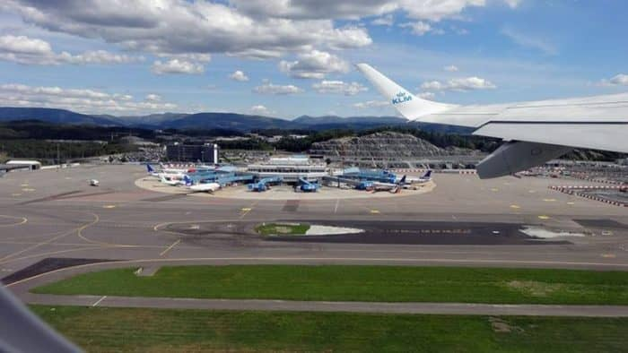 Новый терминал открывается в норвежском аэропорту Бергена