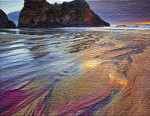 Пляж Прайфер (фиолетовый песок) - Калифорния, США
