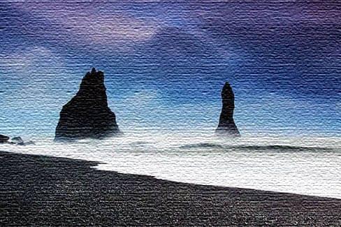 Пляж Рейнисфьяра - Исландия