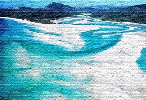 Пляж Уайтхейвен - остров Уитсандей, Австралия