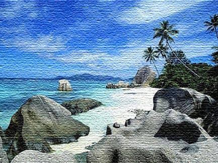 Серебряный источник -Ла-Диг, Сейшельские острова