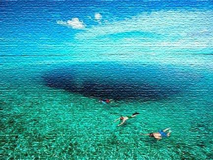 Синяя дыра Дина - Багамы