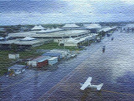 Международный аэропорт в Барбадосе