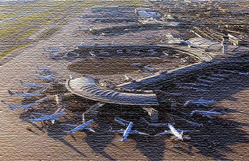 Международный аэропорт в Канаде