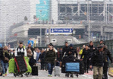Национальный аэропорт в Бельгии