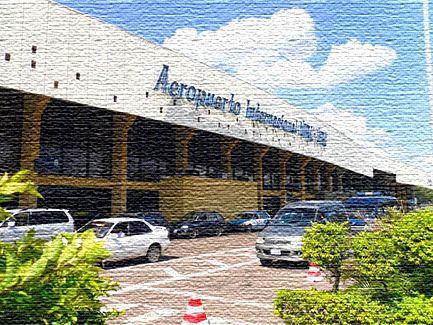 Национальный аэропорт в Боливии