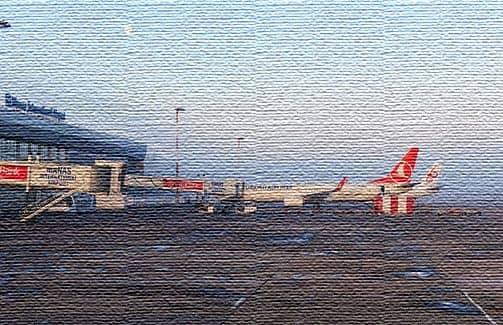 Аэропорт в Кыргызстане