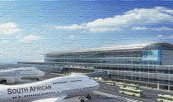 Аэропорт в Южной Африке