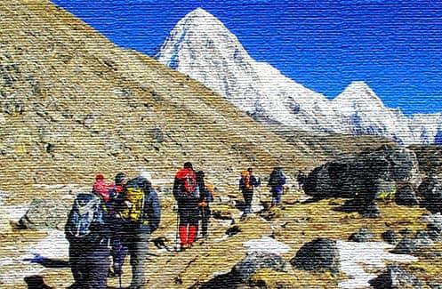 Горный туризм в Непале