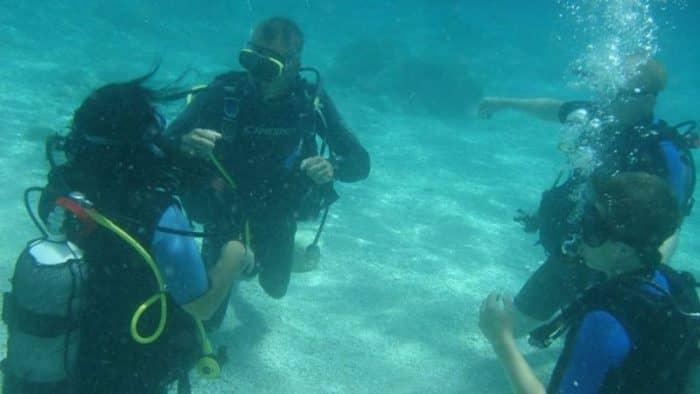 На Южных Эгейских островах будут развивать дайвинг-парки