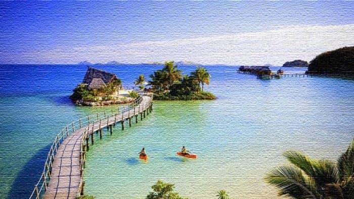 Курорты Фиджи - красочный архипелаг в Океании или райские острова