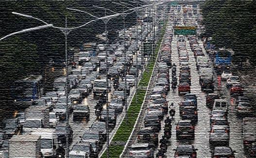 Транспортная инфраструктура в мегаполисе