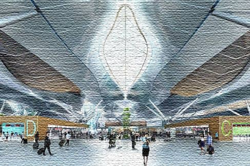 Аэропорт в Южной Корее