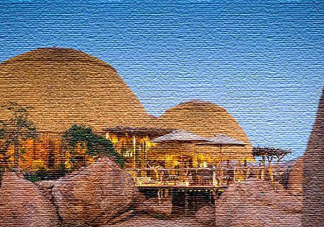 Экологический туризм в Намибии