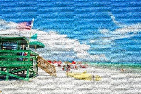 Морские курорты в Соединенных Штатах