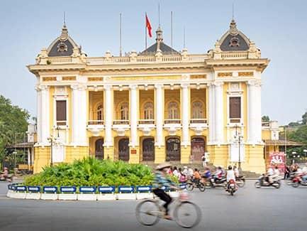 Ханой, Вьетнам французский колониальный