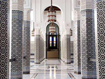 Марракеш, Марокко мавританская архитектура