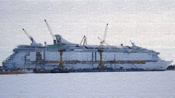 Первый круизный ледокол класса люкс построят к 2021 году