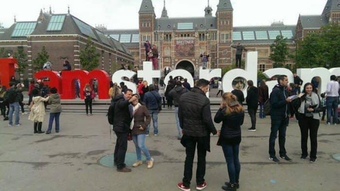 Развитие туризма в Амстердаме - 2,7 миллиарда евро в 2017 году